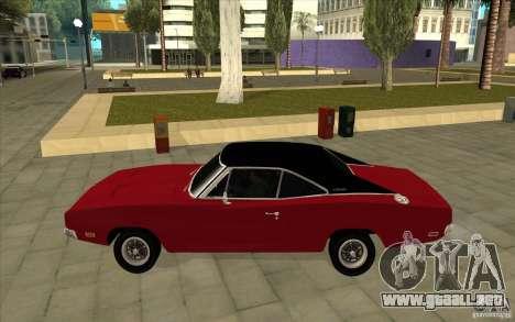Dodge Charger R/T 1969 para GTA San Andreas left