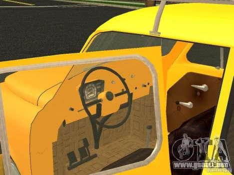 ZAZ 965M para GTA San Andreas vista posterior izquierda