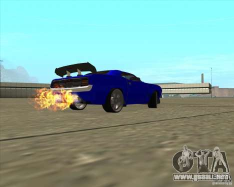 Plymouth Hemi Cuda de NFS Carbon para visión interna GTA San Andreas