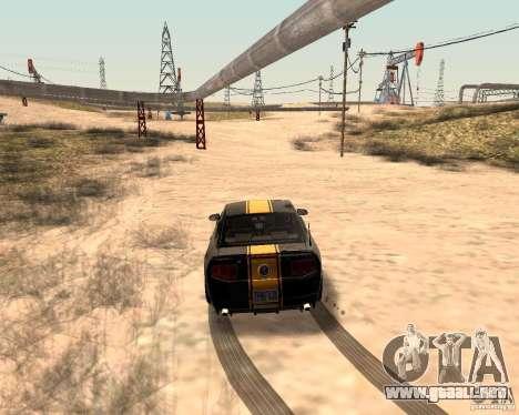 ENBSeries by Nikoo Bel para GTA San Andreas quinta pantalla