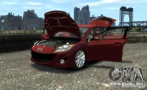 Mazda Speed 3 2010 para GTA 4 visión correcta