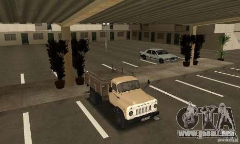 Gaz-52 para visión interna GTA San Andreas