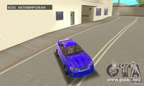 Toyota Celica GT4 2000 para el motor de GTA San Andreas