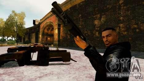 Marshall de Crysis 2 para GTA 4 adelante de pantalla