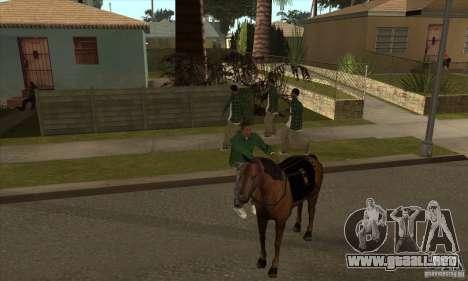 Caballo para GTA San Andreas sexta pantalla