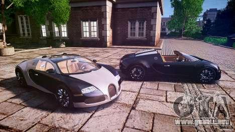 Bugatti Veyron Grand Sport [EPM] 2009 para GTA 4 vista desde abajo