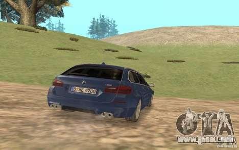 BMW M5 F11 Touring para visión interna GTA San Andreas