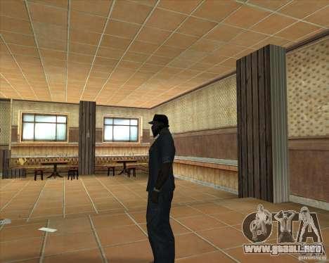 Salierys Bar para GTA San Andreas quinta pantalla