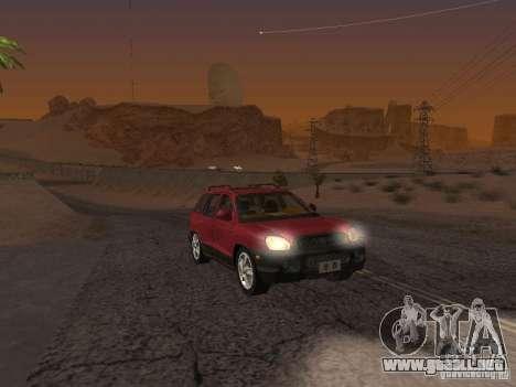 Hyundai Santa Fe Classic para GTA San Andreas
