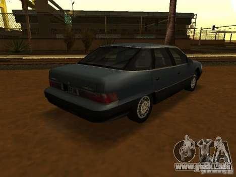 Mercury Sable GS 1989 para GTA San Andreas left