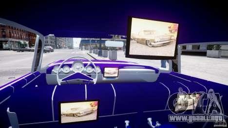 Chevrolet Impala 1959 para GTA 4 vista interior