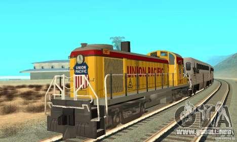 RS3 Diesel locomotor Union Pacific para GTA San Andreas