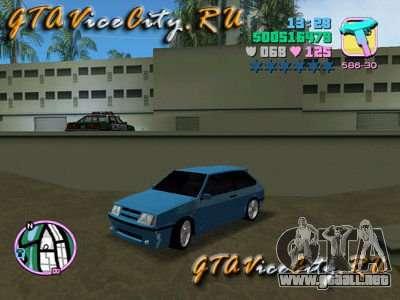 VAZ Lada 2108 Samara para GTA Vice City