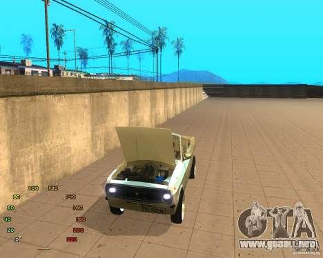 GAZ Volga 2410 el Cabrio para GTA San Andreas vista posterior izquierda