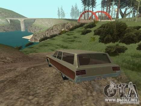Chrysler Town and Country 1967 para la visión correcta GTA San Andreas