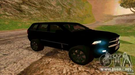 Dodge Durango 2012 para GTA San Andreas left
