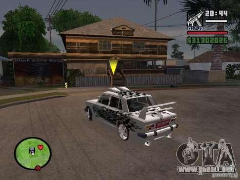 VAZ 2101 coches tuning para la visión correcta GTA San Andreas