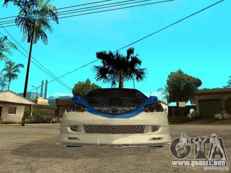 Acura RSX Shark Speed para la visión correcta GTA San Andreas
