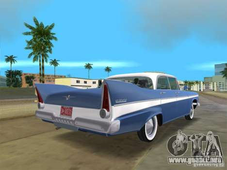 Plymouth Belvedere 1957 sport sedan para GTA Vice City left