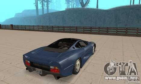 Jaguar XJ220 para GTA San Andreas left