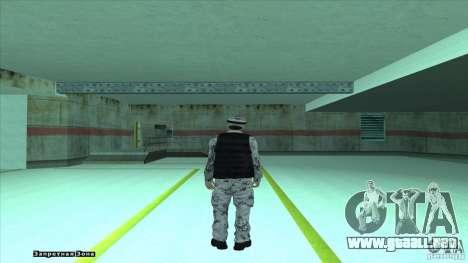Army Soldier v2 para GTA San Andreas segunda pantalla