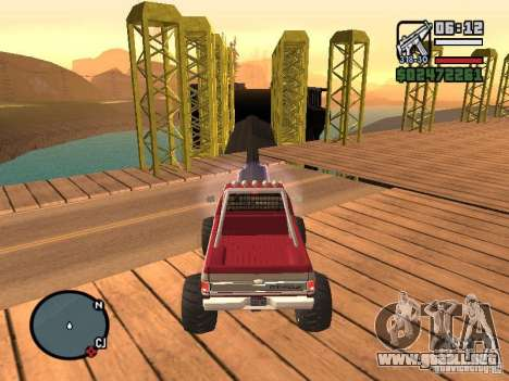 Monster tracks v1.0 para GTA San Andreas novena de pantalla