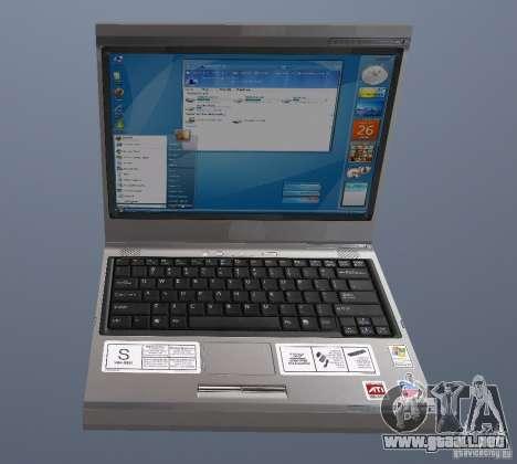 Laptop Haft-Bombe para GTA San Andreas