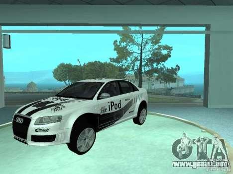 Audi RS4 para GTA San Andreas