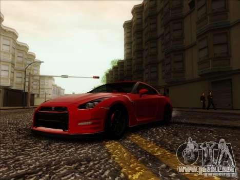 Nissan GTR Egoist 2011 para la visión correcta GTA San Andreas