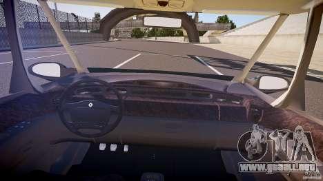 Renault Grand Espace III para GTA 4 vista hacia atrás
