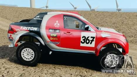 Mitsubishi L200 Triton para GTA 4 left