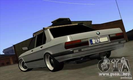 BMW E28 525e RatStyle No1 para GTA San Andreas left