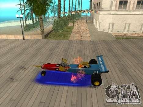 Dragg car para visión interna GTA San Andreas