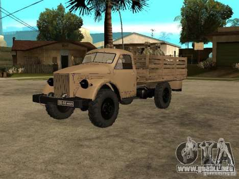 GAS 63A para GTA San Andreas left