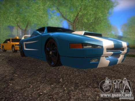 New Infernus para GTA San Andreas left