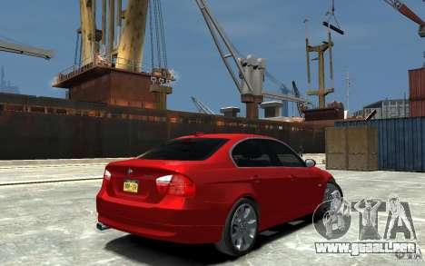 BMW 330i E90 para GTA 4 visión correcta
