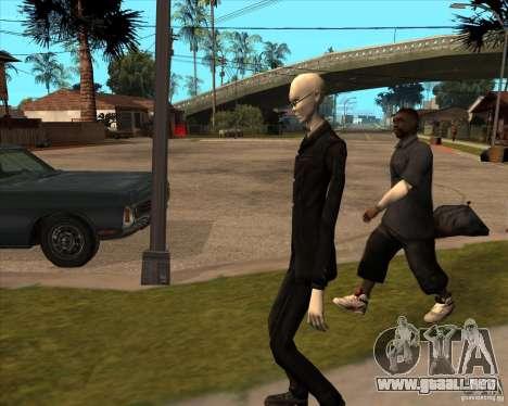 Delgado en gafas oscuras para GTA San Andreas séptima pantalla