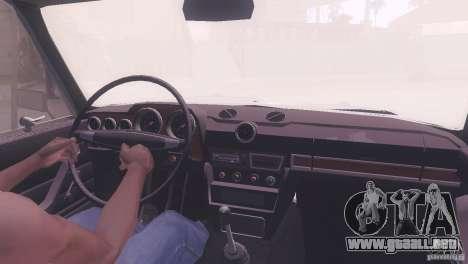 Estilo de rata Tuning 2106 VAZ para vista lateral GTA San Andreas