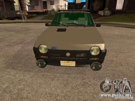 Fiat Ritmo para la vista superior GTA San Andreas