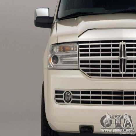 Pantallas de carga Lincoln Navigator para GTA San Andreas