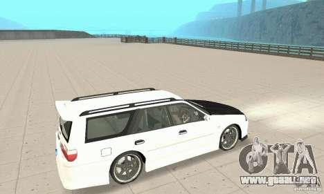 Nissan Stagea GTR para vista lateral GTA San Andreas