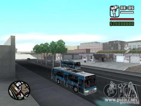 Marcopolo Torino GV Trolebus para GTA San Andreas vista hacia atrás