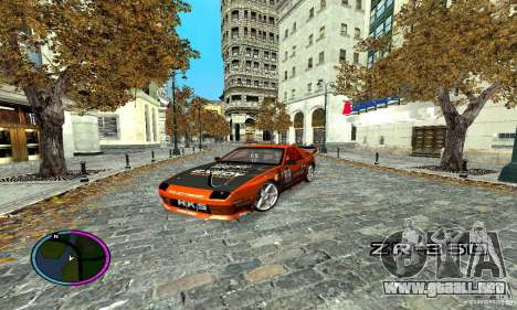 Mazda RX-7 FC for Drag para visión interna GTA San Andreas
