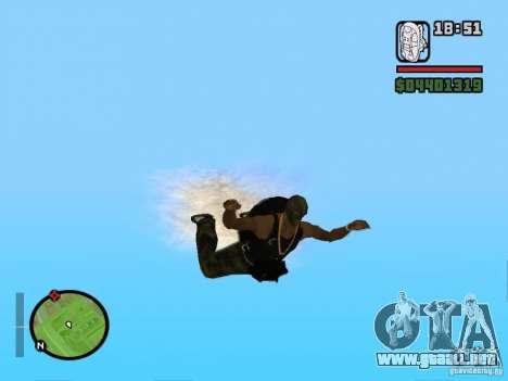 El nuevo paracaídas para GTA San Andreas sucesivamente de pantalla