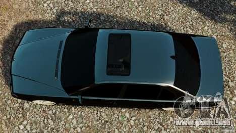 BMW 750iL E38 Light Tuning para GTA 4 visión correcta