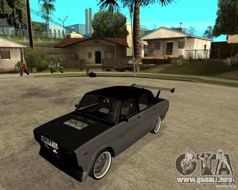 ВАЗ 2107 deriva para GTA San Andreas