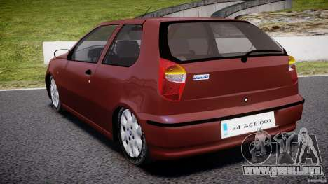 Fiat Palio 1.6 para GTA 4 Vista posterior izquierda
