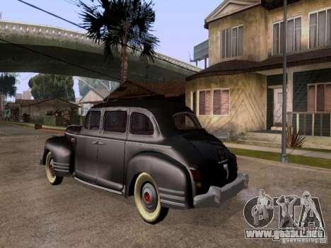 ZiS 110 para GTA San Andreas left