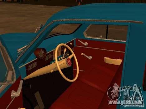 Moskvitch 407 Pickup para la visión correcta GTA San Andreas