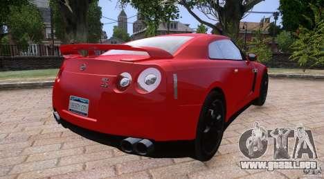 Nissan GTR R35 v1.0 para GTA 4 left